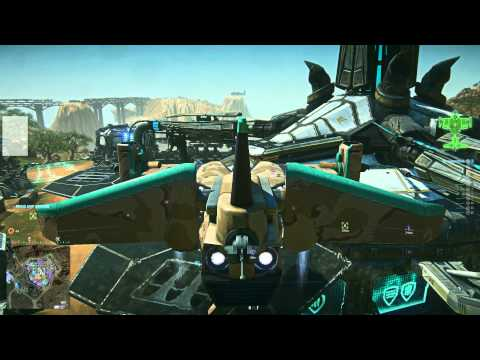 Planetside2 2013-01-08 Galaxy Practice Flight Tutorial