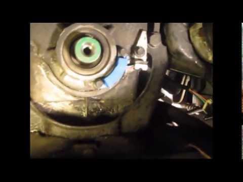 Crank sensor remove/install