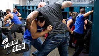 Wildest locker room brawls: WWE Top 10, March 19, 2018