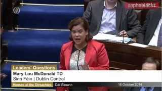 Tánaiste rattled as Mary Lou McDonald confronts her over threatening water charges letters