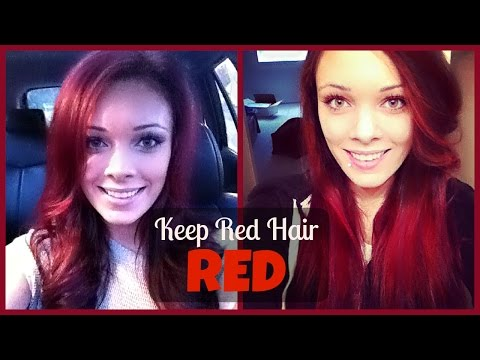 How To Keep Red Hair RED!!