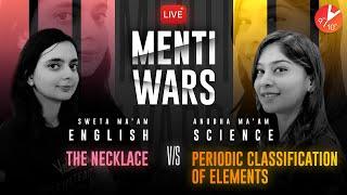 Science Semi-Finale Vs English 18 ⚔️| Periodic Classification of Elements Vs The Necklace |Menti War