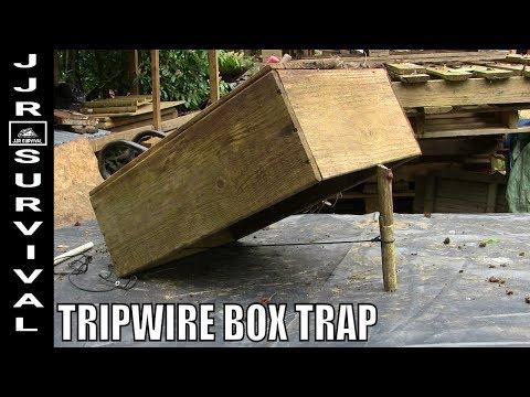 TRIPWIRE DEADFALL BOX TRAP
