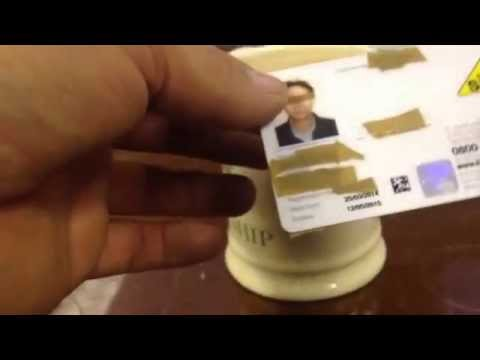 How to check an engineers gas safe card properly