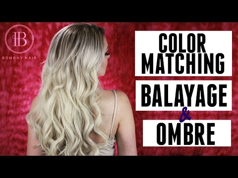 OMBRE & BALAYAGE EXTENSIONS - GET THE PERFECT MATCH - BOMBAY HAIR