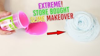 EXTREME STORE BOUGHT SLIME MAKEOVER ~ making store bought slimes pretty! Slimeatory #469