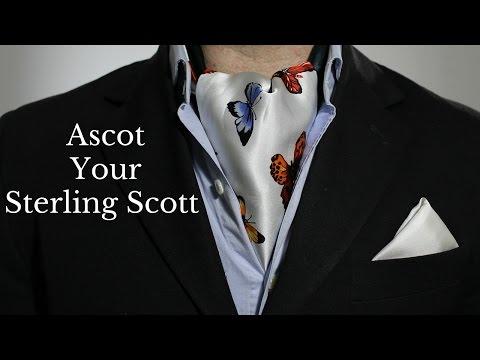 Rock Your Sterling Scott Like an Ascot