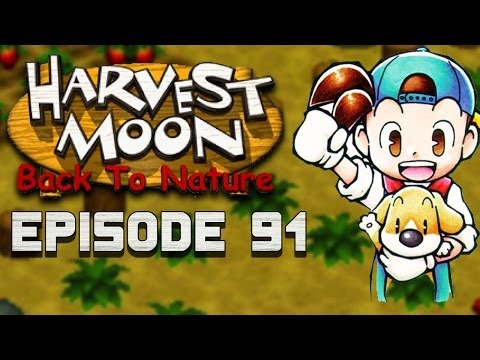Cutting the Grass Field | Harvest Moon | Back to Nature EP.91
