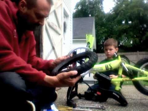 How to Fix a Flat Tire on a Kid's Bike