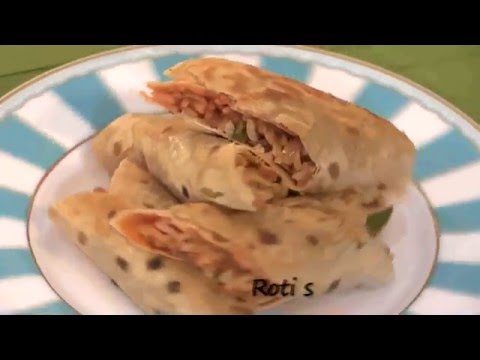 Chapati Spring Roll