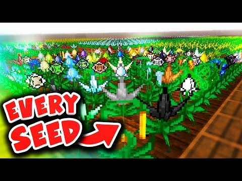GETTING EVERY MYSTICAL AGRICULTURE SEED (Minecraft Boundless Modpack #29)
