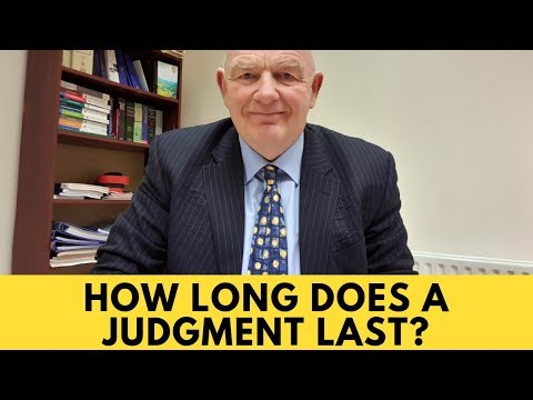 How Long Does a Judgment Last in Irish Law?