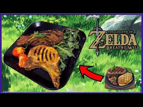 Cuccos Kitchen | How To Make Spicy Pepper Steak | Legend of Zelda: Breath Of The Wild
