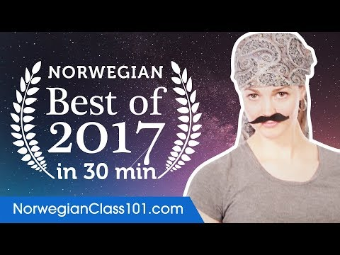 Learn Norwegian in 40 minutes - The Best of 2017