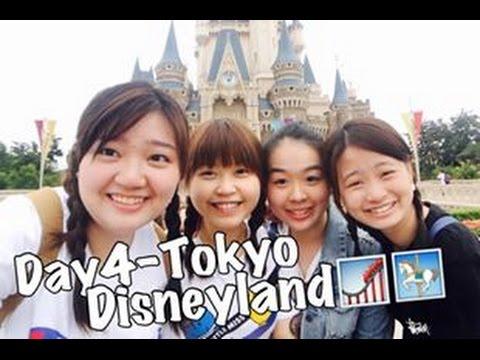 Tokyo grad trip-Day4 Tokyo Disneyland dor 🎉