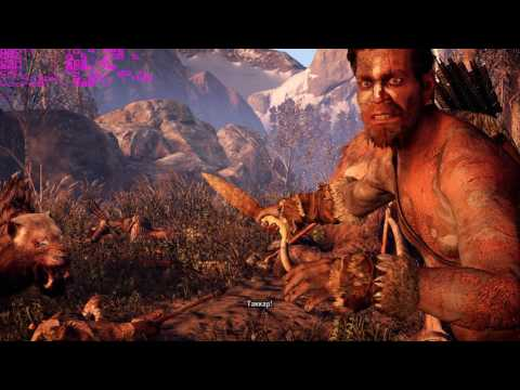 Far Cry Primal - Gameplay on very low PC