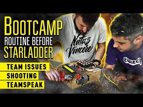 Bootcamp routine before Starladder