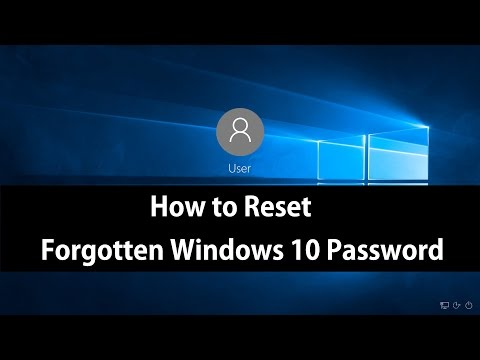 How to Reset Forgotten Windows 10 Password by Restoring to Factory Settings