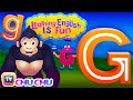 "Learning English Is Fun™ | Alphabet ""G"" | ChuChu TV Phonics & Words Learning For Preschool Children"