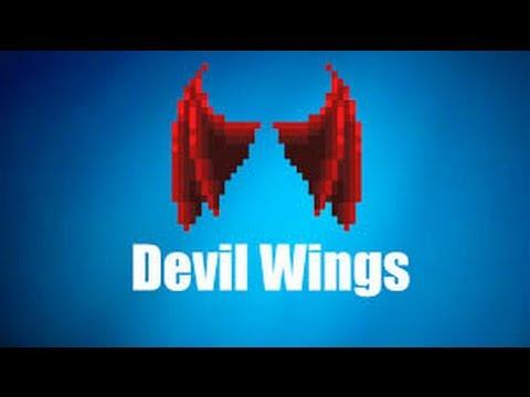 Growtopia Devil Wings Pixel Art