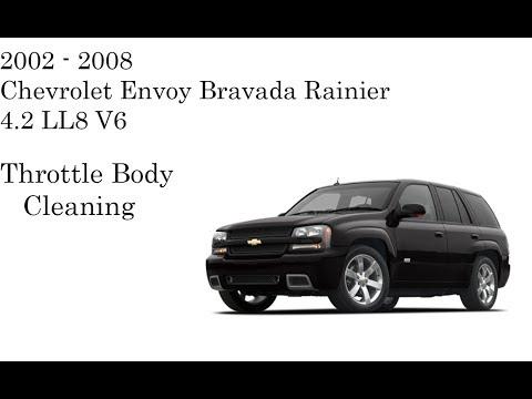 Trailblazer Envoy 4.2 Throttle Body Cleaning