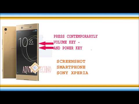 How to make screenshots on sony xperia smartphones