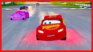 Lightning McQueen Races his Friends! Cars 3 Driven to Win