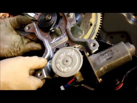 Window Motor Replacement - Toyota Camry