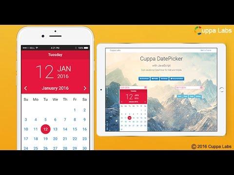 Pure Javascript Datepicker | Responsive | Mobile Friendly