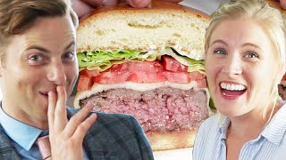 Couple Tries Home-Cooked Vs. $45 Burgers