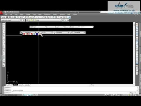 CADline - AutoCAD - Where Have My Toolbars Gone?