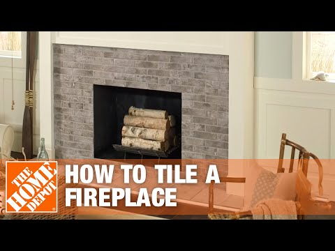 How to Tile a Fireplace Surround and Hearth