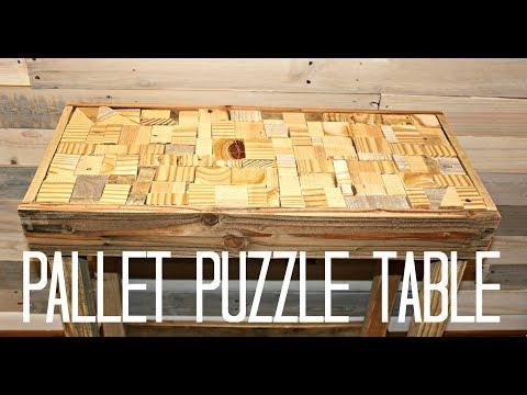 How to Build a Pallet Table - Easy Project