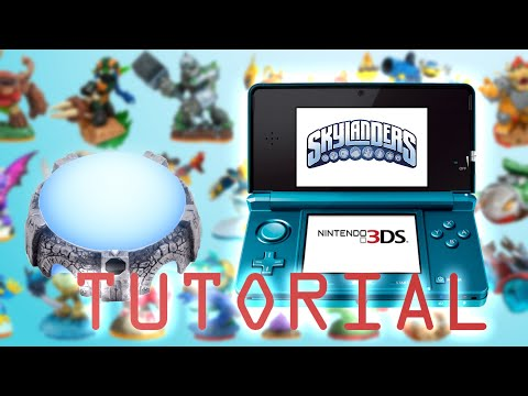 How to use the portal of power on Skylanders 3DS