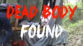 DEAD BODY FOUND WHILST EXPLORING ABANDONED TRAIN IN THE UK
