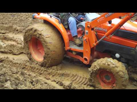 Why we needed a four wheel drive tractor
