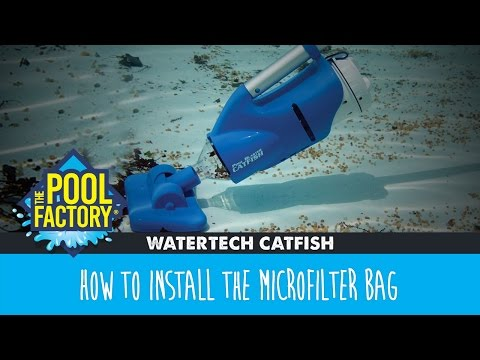 WaterTech Catfish - How to install the microfilter bag