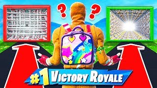 HOLE IN WALL Loot RARITY Chooser *NEW* Game Mode in Fortnite Battle Royale