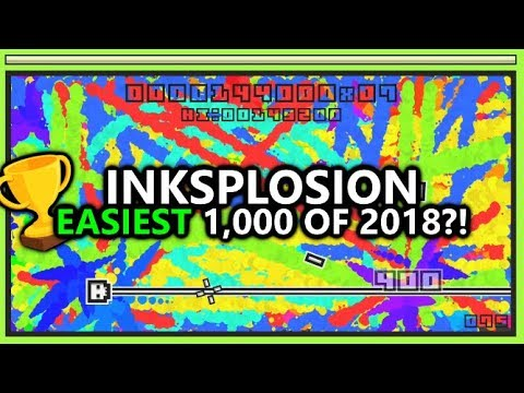 InkSplosion - 1,000 Gamerscore in 15-30 Minutes for $5 - FASTEST Game of 2018?! (w/ Platinum Trophy)