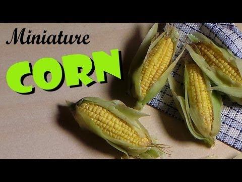 Miniature Corn On The Cob - Polymer Clay Tutorial