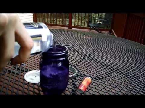 how to make a mason jar lamp