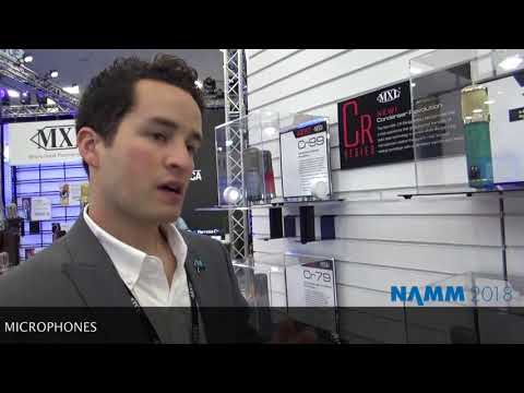 Making Music Mag/NAMM 2018 Product Spotlight: MXL Condenser Microphones