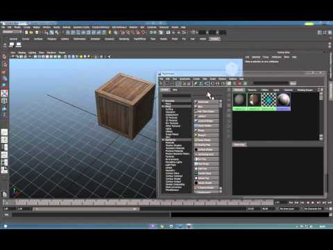 Importing Maya Objects In to AfterEffects - Part 1