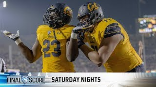 Highlights: Staunch defensive performance powers Cal's upset over No. 8 WSU