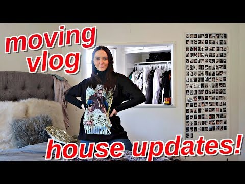 DECORATING MY NEW HOUSE! | Moving Vlog