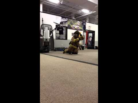 Fitworkz Firefighter Training - How fast can you get dressed?
