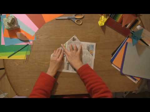 Paper Craft Projects : How to Make Paper Hats