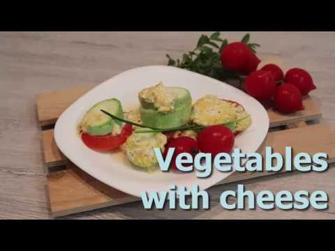 Vegetables with cheese