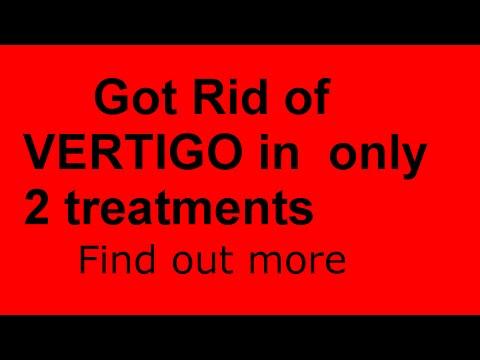 Vertigodizzinessmeniere S Syndrome Treatment Got Rid Of Vertigodizzin