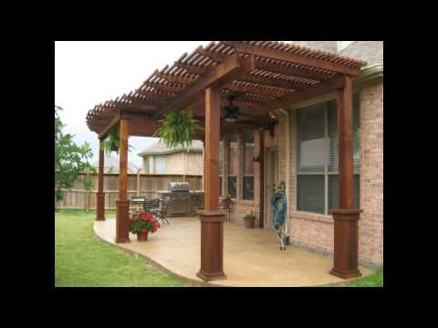 Patio Cover Designs | Wood Patio Cover Designs | Free Standing Patio Cover Designs